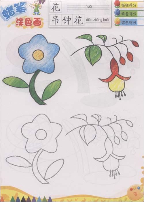 儿童画柳树怎么画