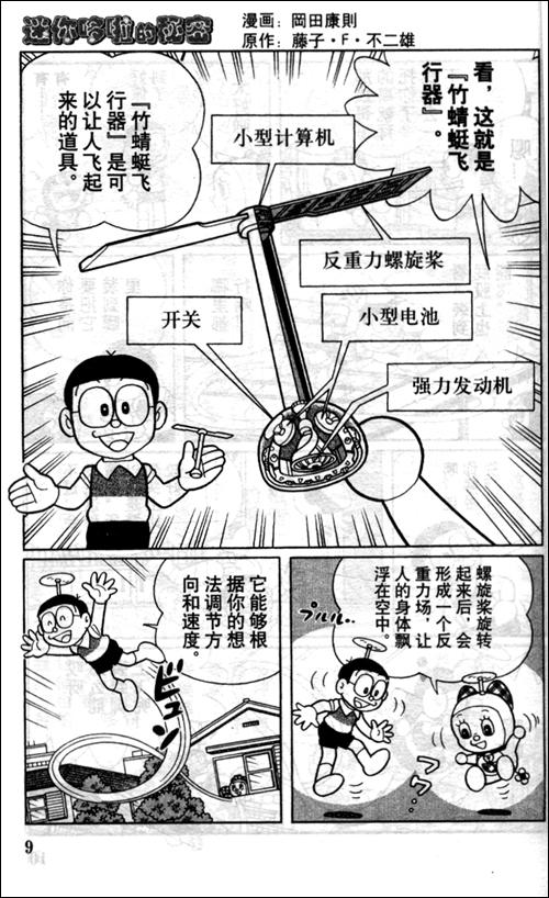 回至 迷你哆啦的秘密:哆啦a梦秘密道具特别篇 (平装)