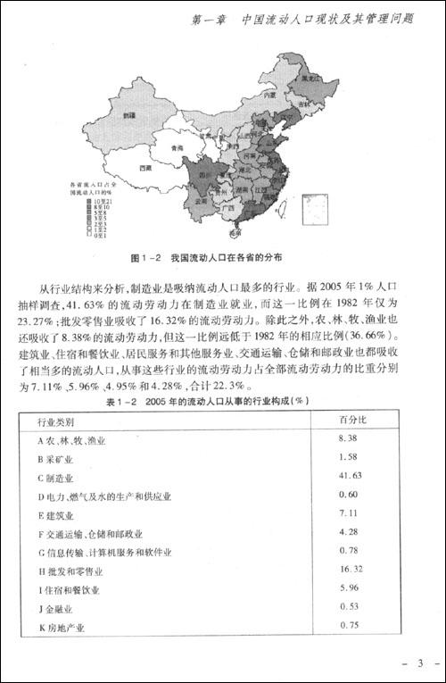中国流动人口管理报告 苏杨