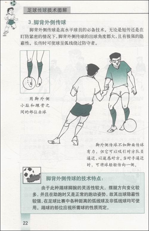 足球传球技术图解(特价)/陈惠民-图书-卓越亚马逊