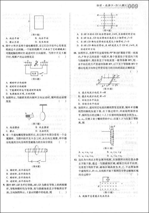 高中常见电路图总结