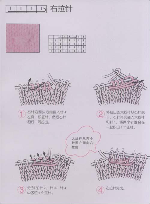 棒针编织基础技法