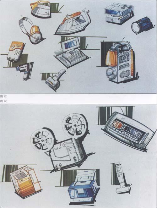 张克非产品手绘图