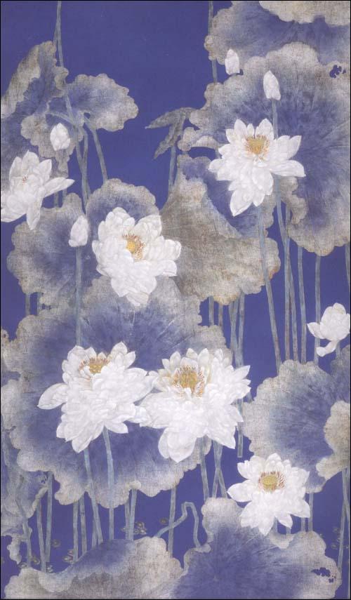 中国画技法工笔重彩花卉画法
