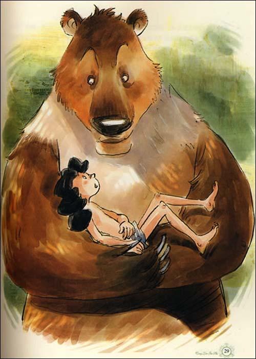 最能打动孩子心灵的世界经典童话:丛林故事