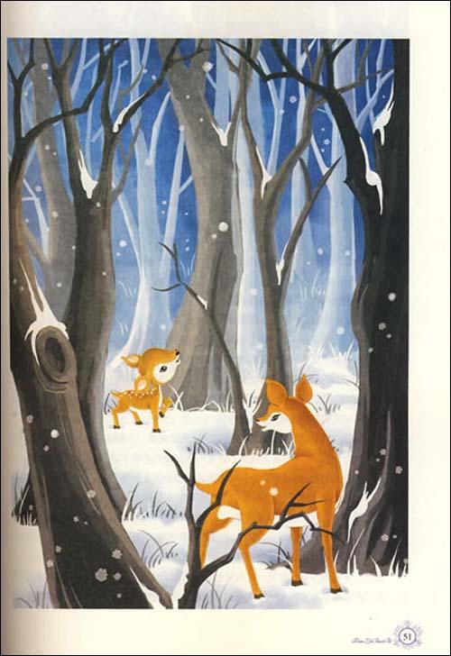 最能打动孩子心灵的世界经典童话:小鹿斑比
