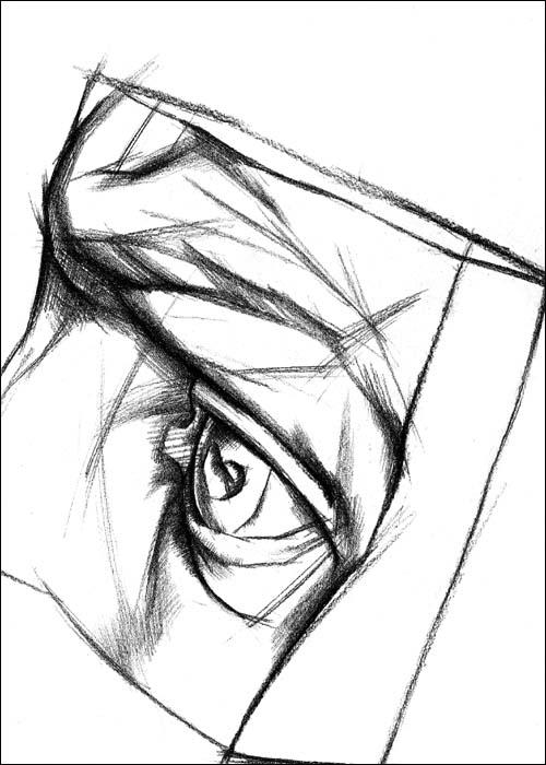 素描头像五官结构图,石膏五官结构素描图片,五官素描结构图