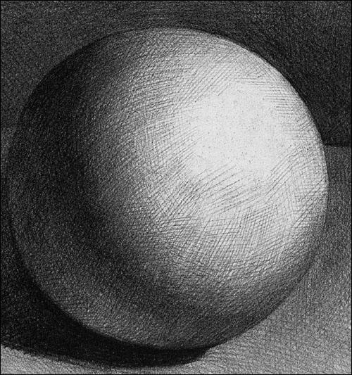 基础素描教程.石膏几何体