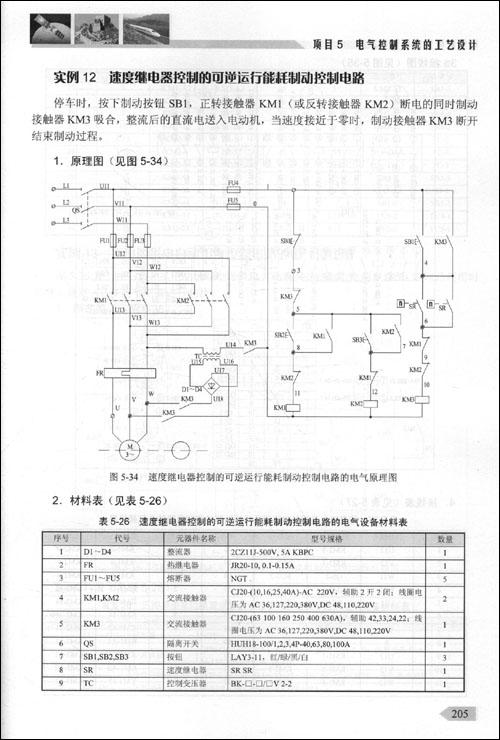 cw6163型卧式车床电气接线图
