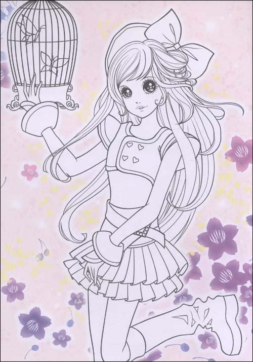 公主大全小女孩画画