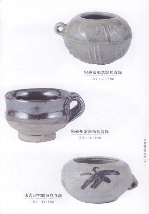 《历代鸟食罐精品鉴藏》图片