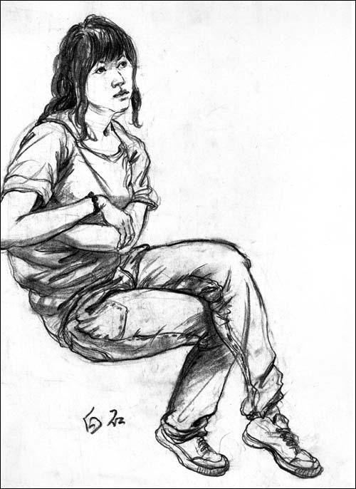 《美院加油站——描,色彩,速写》系列丛书,《素描头像结构画法》.