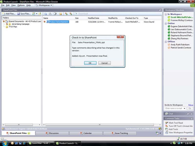 Office Groove 2007(英文版 Win32)