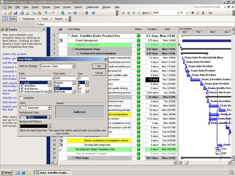 Microsoft Project Viewer Enterprise Standard MPP Viewer