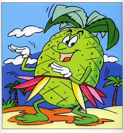 《学画卡通画系列丛书:卡通水果篇》