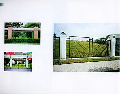 《现代围墙大门设计实录》