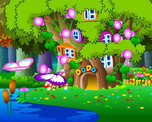 《洪恩小小幼儿英语》讲述了在美丽的大森林里,有一个充满