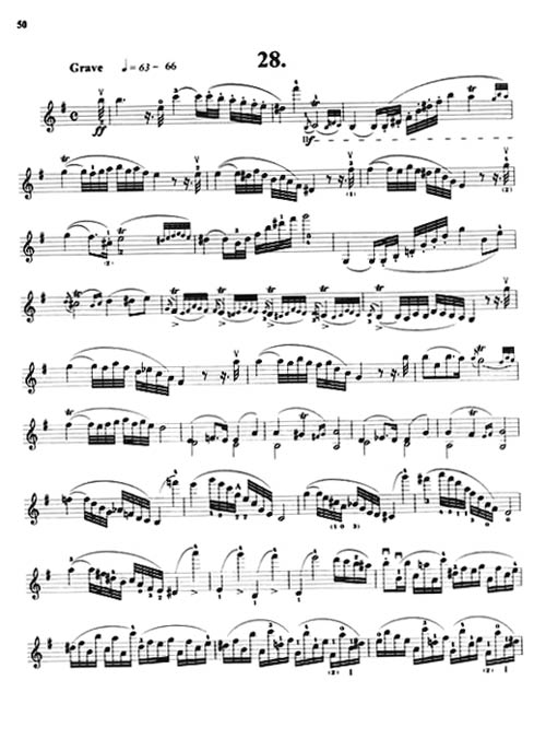 克莱采尔小提琴练习曲42首 赵基阳