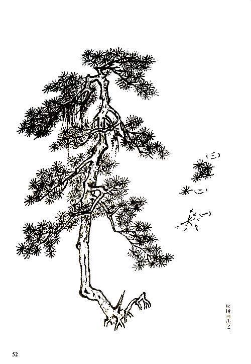 国画 简笔画 手绘 线稿 500_724 竖版 竖屏