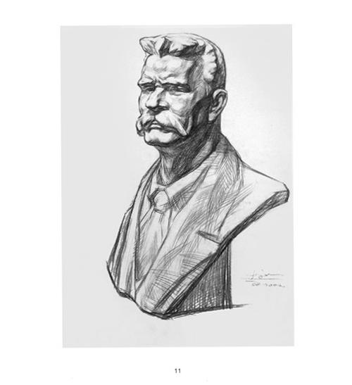 大卫石膏头像素描_大卫石膏头像素描画法