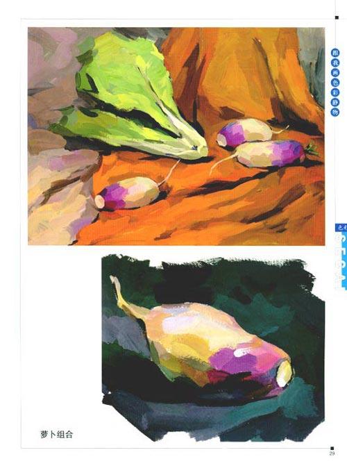 对于初学者来说,临摹优秀作品是提高学画者形象意识和绘画技能的最