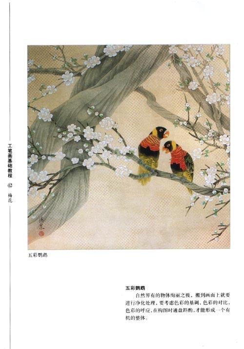 玫瑰花工笔画高清图片_卡通风景_图片114 工笔画白描牡丹图片免费