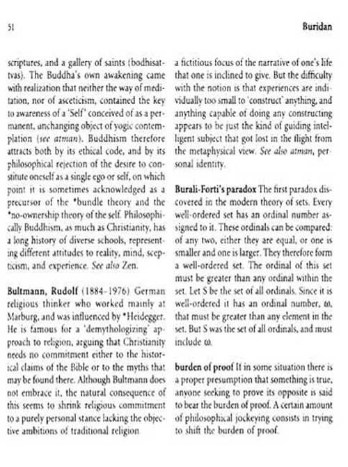 牛津英语百科分类词典系列•牛津哲学词典