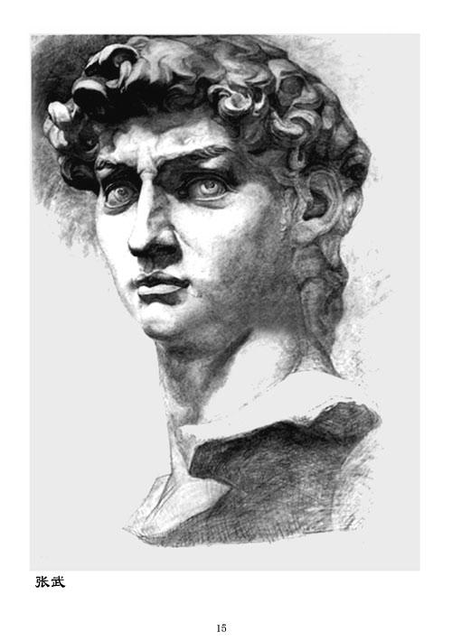 美术高考强化训练素描石膏像