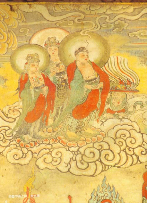 中国寺观壁画典藏:山西洪洞广胜寺水神庙壁画图片