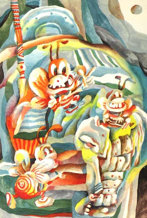 """""""  狐狸和面具  在远古时代,一只狐狸拾到一个内部空空而表面咧着一张"""
