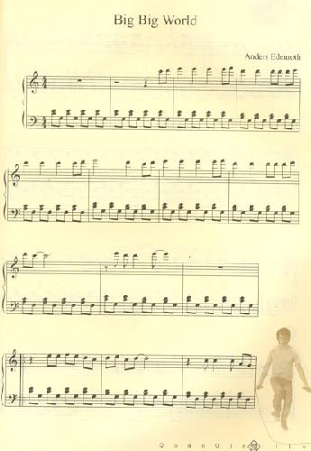 钢琴曲谱简单两只老虎