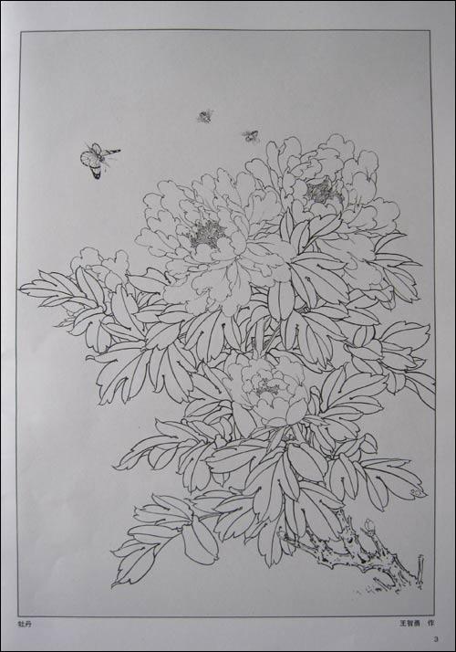 名画家 李公麟白描线描古代人物和神话人物白描欣赏