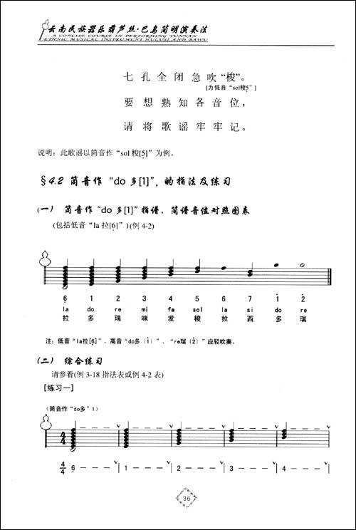 葫芦丝吐音练习曲谱图片分享下载; 婚誓葫芦丝简谱; 新年好简谱歌谱