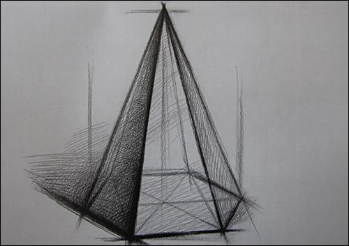 《结构素描范本:单个几何体结构素描》 刘军【摘要