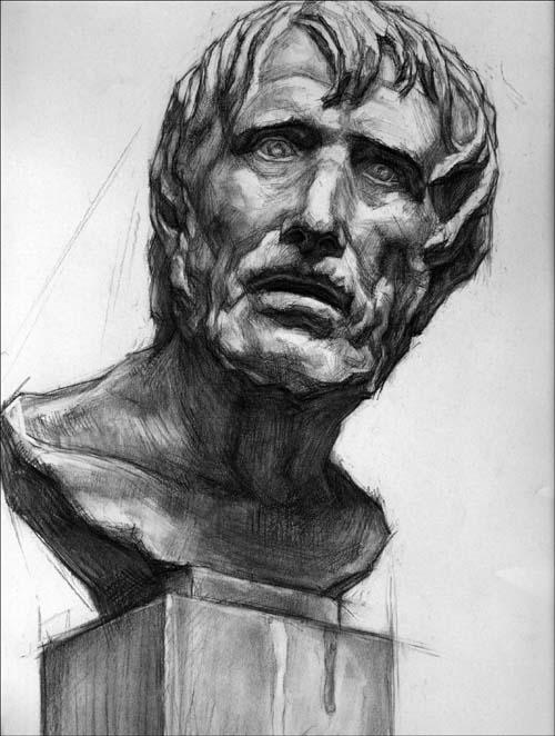 伏尔泰素描石膏头像图片_伏尔泰素描石膏头像图片