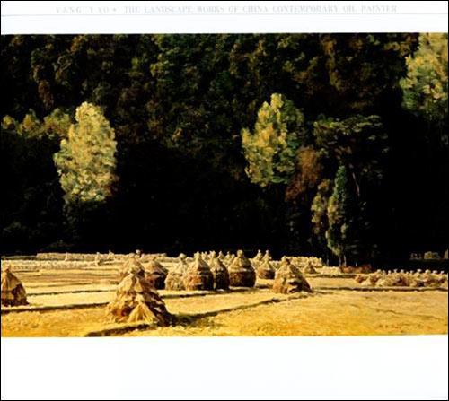 中国当代油画家风景写生画集:杨尧/杨尧-图书-卓越