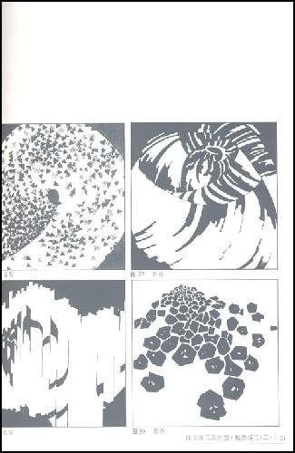 平面构成变异作业 > 肌理平面 构成作业 图-变异构成图片作业图片