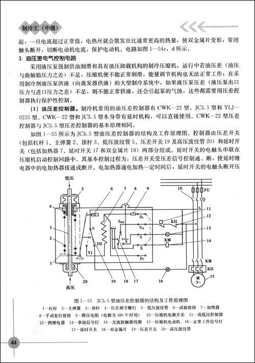 3.油压差电气控制电路