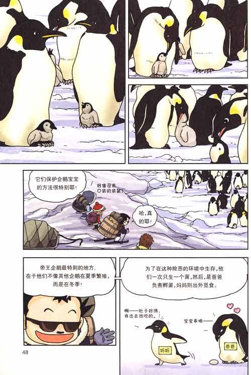 我的第一本科学漫画书-南极大冒险