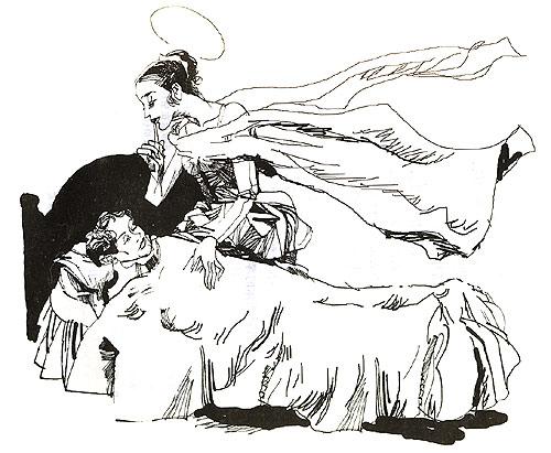 娜塔莎 手绘图片