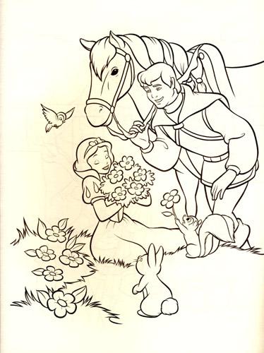 迪士尼装饰场景手绘