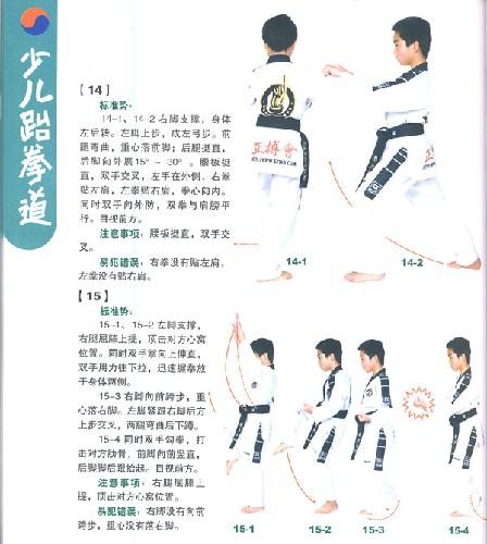 少儿跆拳道:标准晋级