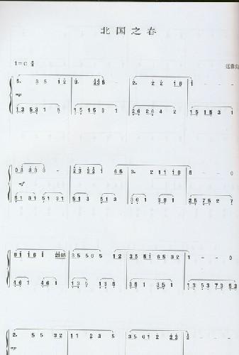 典名歌名曲钢琴简谱版 3 附盘 王干