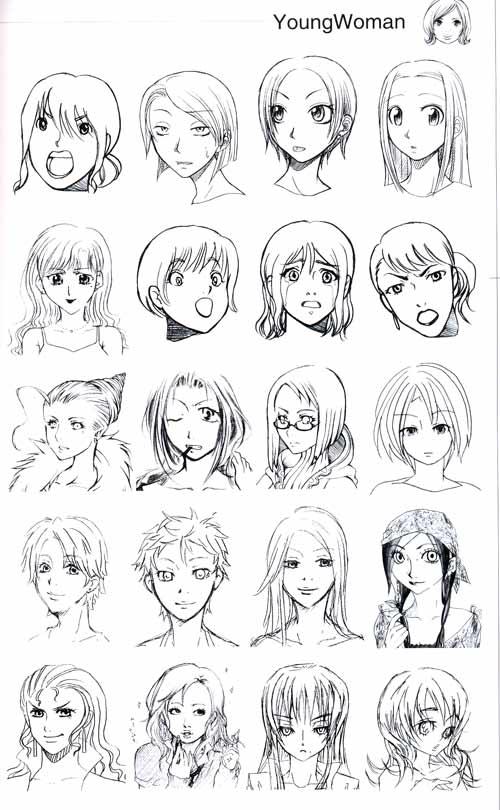怎么画古代女生的头发,衣服,鞋子,首饰,眼睛,嘴巴,眉毛