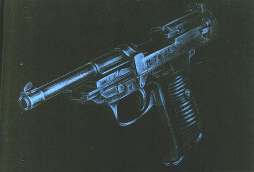 马克笔产品手绘枪