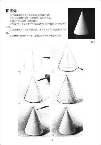 了几何形体素描的学习方法,主要表现形式,使用工具以及基本绘画技法等