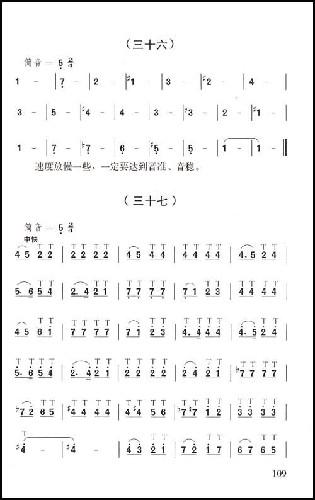简单的笛曲谱-成都笛子简谱 胡结续简介