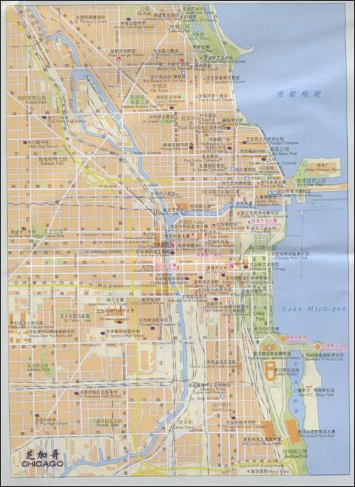 世界分国地图•美国