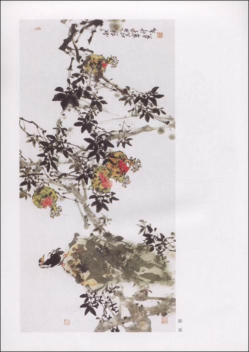 回至 写意花鸟(石榴画法)/中国画技法系列 (平装)