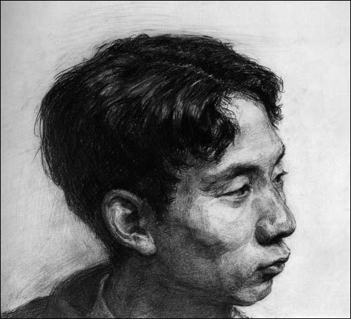 中央美术学院附属中等美术学校优秀校藏习作:素描头像
